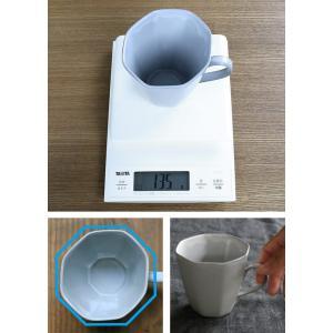 マグカップ 320ml アミューズ コップ マグ 陶器 笠間焼 日本製 ( 食洗機対応 電子レンジ対応 カップ 八角形 )|colorfulbox|07