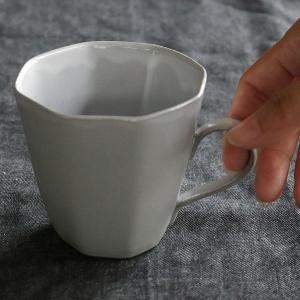 マグカップ 320ml アミューズ コップ マグ 陶器 笠間焼 日本製 ( 食洗機対応 電子レンジ対応 カップ 八角形 )|colorfulbox|10