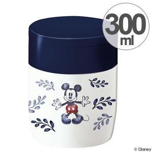 スープジャー スープボトル ミッキーマウス 300ml キャラクター スプーン付 ( 保温 保冷 ステンレス フードコンテナ )|colorfulbox