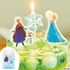 パーティーキャンドル アナと雪の女王 ( キャンドル ローソク ろうそく )