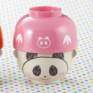 汁椀 茶碗 セット ミニ パンダ どうぶつシリーズ
