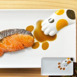 プレート どろぼう猫魚プレート 三毛猫 皿 仕切り皿