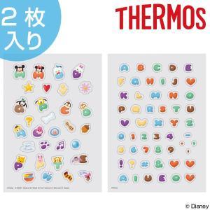 シール サーモス thermos カスタマイズシール ディズニー ツムツム オリジナルボトル Customize Seal キャラクター ( デコシール マイボトル 水筒 )|colorfulbox