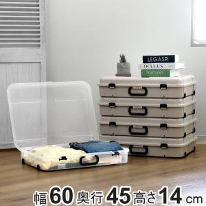 持ち手とキャスターが付いた持ち運びに便利な収納ケースです。キャスターは使用方向に応じて付け替えが可能...