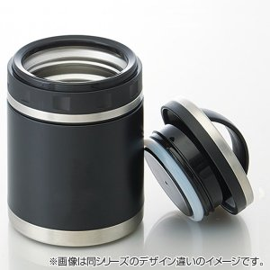 保温弁当箱 デリカポット スープジャー 520ml グラデストライプ ( お弁当箱 ランチポット ランチジャー )|colorfulbox|02