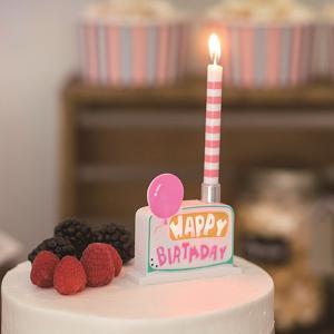 キャンドル ろうそく 誕生日 キャンドルホルダー メロディバースデーキャンドルホルダー ( ローソク ロウソク ケーキ用 )