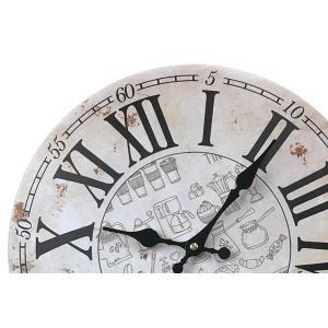 掛け時計 33cm カフェタイム 3 モチーフクロック Cafe Time ( アナログ 時計 壁掛け時計 インテリア 雑貨 )|colorfulbox|05