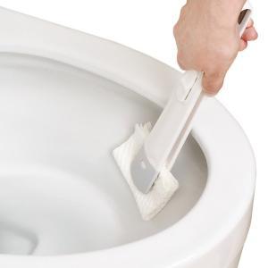 トイレの激落ち シートでトイレクリーナー レック ( トイレクリーナー 付け替え 使い捨て )