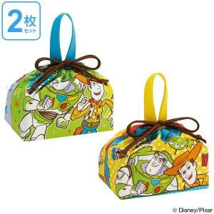 お弁当袋 トイ・ストーリー ランチ巾着 子供 2枚入り ( 給食袋 幼稚園 保育園 巾着 )|colorfulbox
