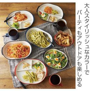 プレート 22cm 皿 オベロ おしゃれ プラスチック 食器 日本製 ( 食洗機対応 器 電子レンジ対応 お皿 アウトドア プレート )|colorfulbox|02