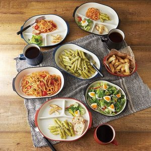 プレート 22cm 皿 オベロ おしゃれ プラスチック 食器 日本製 ( 食洗機対応 器 電子レンジ対応 お皿 アウトドア プレート )|colorfulbox|07