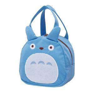 映画となりのトトロに登場する中トトロの、ファスナーで開閉する手提げダイカットバッグです。小さめサイズ...