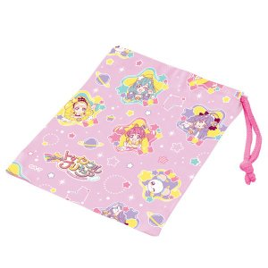 コップ袋 スター☆トゥインクルプリキュア 子供 キャラクター ( 巾着袋 幼稚園 保育園 プリキュア )|colorfulbox