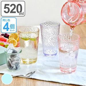 ジュースを入れるのにピッタリなグラスです。同色4個セットです。同シリーズのピッチャーと合わせて使えば...