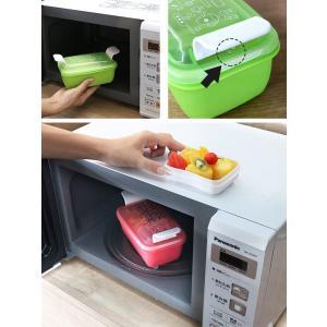 お弁当箱 1段 2段 2way クチーナ セパレートランチボックス 500ml〜670ml ( 弁当箱 レンジ対応 食洗機対応 日本製 )|colorfulbox|09