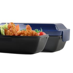 【ポイント最大26倍】弁当箱 アウトドアライフ 4点ロックドームランチボックス 750ml ( お弁当箱 1段 レンジ対応 )|colorfulbox|08