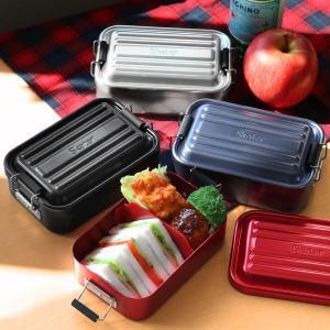 お弁当箱 1段 アルミ SKATER ふわっとランチボックス 仕切り付 600ml ( 弁当箱 スケーター ランチボックス アルミ弁当 アルミランチボックス )|colorfulbox|14