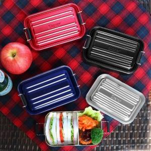 お弁当箱 1段 アルミ SKATER ふわっとランチボックス 仕切り付 600ml ( 弁当箱 スケーター ランチボックス アルミ弁当 アルミランチボックス )|colorfulbox|15