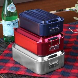 お弁当箱 1段 アルミ SKATER ふわっとランチボックス 仕切り付 600ml ( 弁当箱 スケーター ランチボックス アルミ弁当 アルミランチボックス )|colorfulbox|07