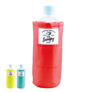 ボトルカバー スヌーピー ペットボトルカバー ピーナッツ ( ペットボトルホルダー ペットボトル カバー ケース カラフル かわいい )|colorfulbox