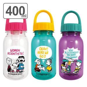 水筒 プラスチック スヌーピー 軽量 ドリンクボトル 400ml ( ウォーターボトル プラスチックボトル クリアボトル )|colorfulbox