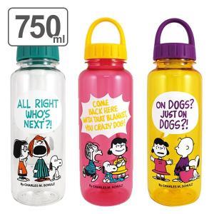水筒 プラスチック スヌーピー 軽量 ドリンクボトル 750ml ( ウォーターボトル プラスチックボトル クリアボトル )|colorfulbox