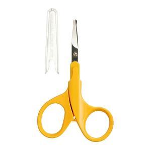 伸びはじめの薄く柔らかい小さな爪に最適なベビー用爪切りはさみです。新生児から3才頃のお子さまにお使い...