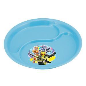 ランチ皿 ランチプレート 仮面ライダーゼロワン 子供用 皿 食器 キャラクター ( 仕切り皿 お子様ランチ プラスチック )|colorfulbox