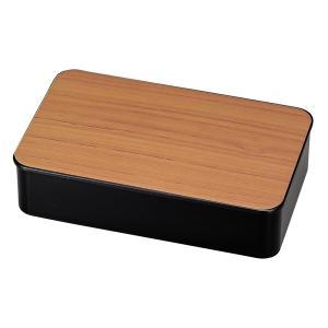 お弁当箱 1段 黒檀 1000ml ランチボックス メンズ ( 弁当箱 レンジ対応 食洗機対応 木目調 和風 大容量 ) colorfulbox 11