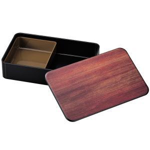 お弁当箱 1段 黒檀 1000ml ランチボックス メンズ ( 弁当箱 レンジ対応 食洗機対応 木目調 和風 大容量 ) colorfulbox 04