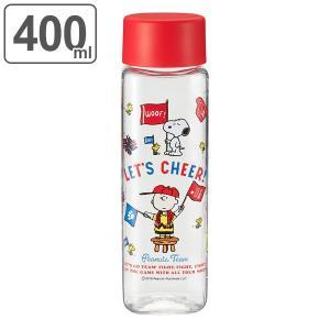 水筒 プラスチック 直飲み スクエアボトル スヌーピー スポーツ 400ml ( SNOPPY マグボトル ボトル クリアボトル ウォーターボトル )|colorfulbox