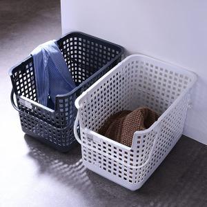 ランドリーバスケット スタッキングベース LBB-06C バイオプラスチック配合 ( 洗濯かご バスケット ランドリーボックス ライクイット )|colorfulbox