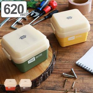 お弁当箱 2段 STORAGE カラー スクエア 620ml ランチボックス ( 弁当箱 食洗機対応 レンジ対応 おしゃれ おすすめ おすすめ )|colorfulbox