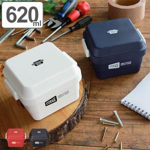 お弁当箱 2段 STORAGE スクエア 620ml ランチボックス ( 弁当箱 食洗機対応 レンジ対応 おしゃれ おすすめ おすすめ )|colorfulbox