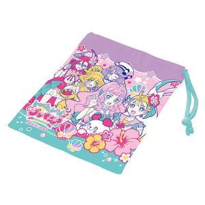 コップ袋 トロピカル〜ジュ!プリキュア 子供 キャラクター ( 給食袋 巾着 コップ入れ トロピカルージュプリキュア ) colorfulbox