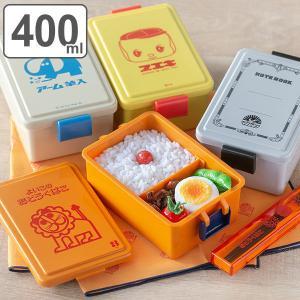お弁当箱 1段 400ml 保冷剤一体型 GEL-COOL スクエアL レトロ文具 ( 弁当箱 ランチボックス 食洗機対応 レンジ対応 日本製 女子 )|colorfulbox