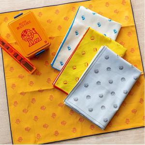 ランチクロス ナフキン レトロ文具 ( お弁当包み ランチョンマット 給食ナフキン 日本製 )|colorfulbox