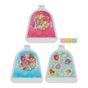 おにぎりラップ トロピカル〜ジュ!プリキュア 3枚入り 丸型おにぎり袋 ( トロピカルージュプリキュア ラップ おむすびラップ おにぎりシート 子供 日本製 ) colorfulbox