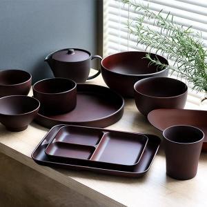 ランチ皿 27cm SEE 仕切皿 ワンプレート プラスチック 食器 皿 日本製 おしゃれ 同色5枚セット ( 電子レンジ対応 食洗機対応 木製風 ランチプレート 木目調 ) colorfulbox 10