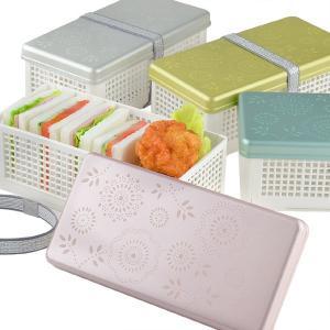 お弁当箱 サンドイッチケース Have a Lunch 花 ランチベーカリー 折りたたみ式 ( ランチボックス おにぎり おむすび )|colorfulbox