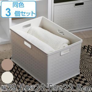 カラーボックス用 収納ボックス RE 高さ24cm 3個セッ...