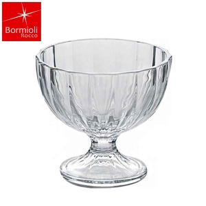 ボルミオリ・ロッコ社のデザートグラスです。飽きの来ないデザイン性と使いやすさは、業務用、家庭用に愛さ...