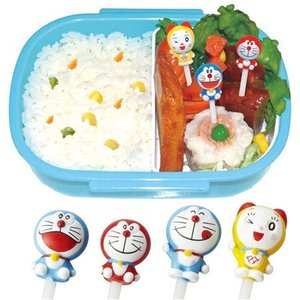 ニコニコピック ドラえもん 8本入 キャラクター 子供用 ( キャラ弁 ピック お弁当グッズ )|colorfulbox