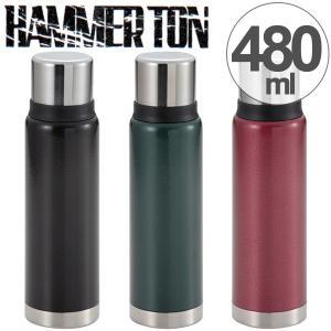 水筒 コップ付き ネオクラシック ハンマートン 480ml スポーツドリンク対応 ふっ素樹脂加工 ( ステンレスボトル フッ素加工 ステンレス製 ) colorfulbox