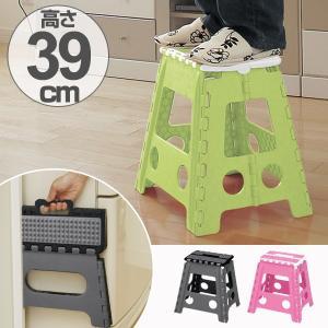 踏み台 セノビー ラバーグリップ 高さ39cm 天板29cm のっぽ君 ( 折りたたみ 折り畳み ステップ台 )|colorfulbox