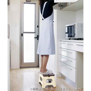 踏み台 セノビー 高さ22cm 天板29cm グリーン ( 折りたたみ 折り畳み ステップ台 )|colorfulbox|03