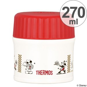 |特価|保温弁当箱 スープジャー サーモス(thermos) 真空断熱フードコンテナー ミッキーマウス 270ml JBI-271DS ( お弁当箱 ランチボックス 保温 )|colorfulbox