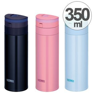 水筒 サーモス(thermos) 真空断熱ケータイマグ 直飲み スリム 350ml JNS-350 ( 軽量 ステンレスボトル マグ )|colorfulbox
