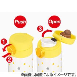水筒 ステンレスボトル 調乳ポット 保温・保冷 サーモス 500ml ミニーマウス JNX-500DS ( thermos 子供用水筒 ワンタッチオープン ) colorfulbox 04