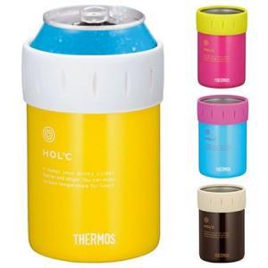 保冷缶ホルダー サーモス(thermos) 350ml缶用 JCB-351 缶クーラー ( ドリンククーラー 保冷専用 )|colorfulbox